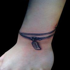佛牌手链纹身