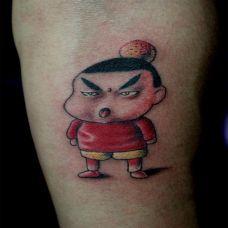 蜡笔小新纹身