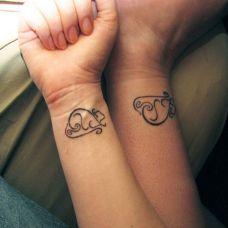 小巧可爱图腾图案纹身