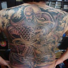 关公纹身真男人的象征