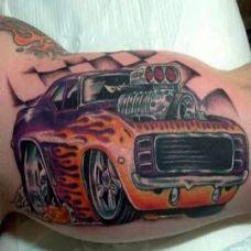 属于汽车控的超炫汽车纹身
