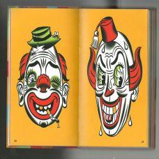 欧美卡通彩色纹身手稿素材
