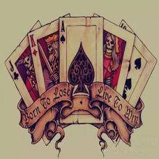 个性欧美风格纹身手稿
