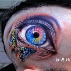 个性神秘奇异眼睛