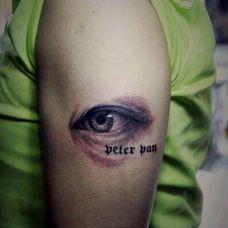 完美3d纹身技术-眼睛纹身图案