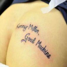 流行艺术英文纹身