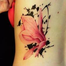 艺术彩色纹身
