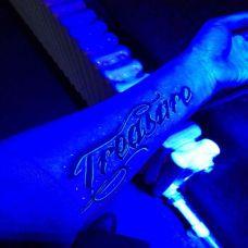手腕另类潮流纹身墨水夜光系列图片