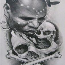 各类经典纹身手稿素材