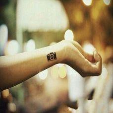 一组手腕简单好看的小巧纹身