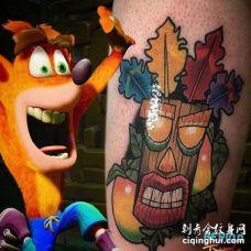 卡通大臂纹身图案