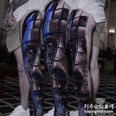 大腿外侧新传统人像