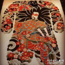 日式传统人物