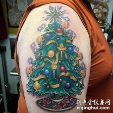 圣诞老人纹身图案
