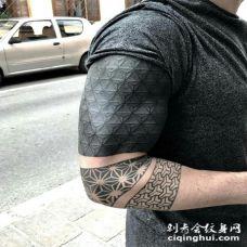 黑臂来了最吊最酷炫的纹身全遮盖