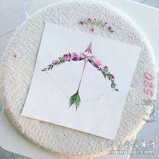 唯美小清新植物素材文艺花朵纹身手稿