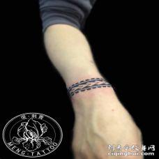 纹身-手环图腾纹身图案
