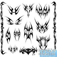 纹身图片:纹身图片之小图腾纹身图片