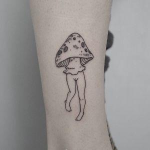 小腿传统纹身图案