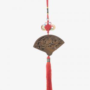 创意扇坠中国结纹身手稿图片