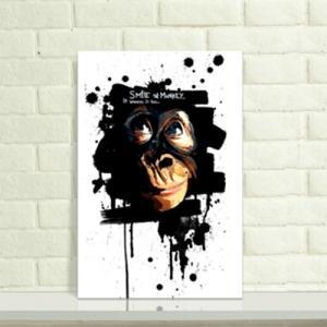 创意猩猩纹身手稿图片
