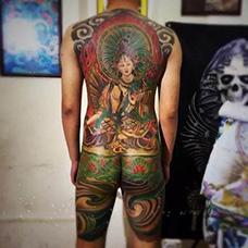 全身度母纹身图案