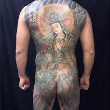 全身观音纹身图案