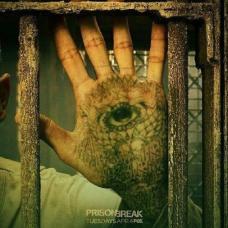 越狱第五季迈克手掌眼睛图案纹身