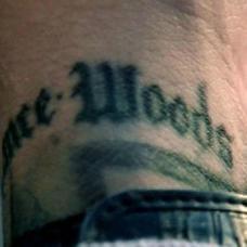 米帅手腕英文越狱纹身