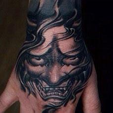 神秘般若手臂纹身