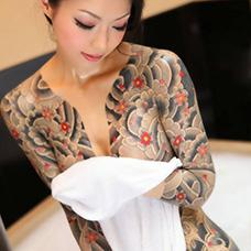 山口组美女纹身图片