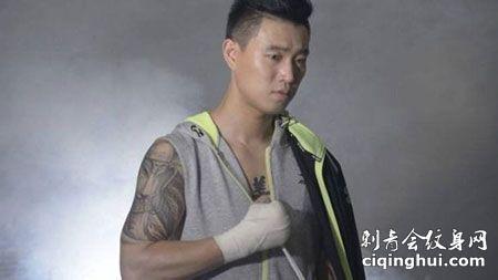 gary姜熙健大臂帅气纹身