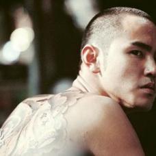 电影艋舺中阮经天霸气的满背纹身